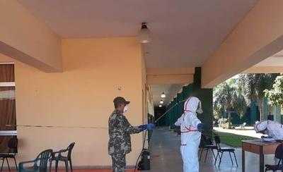 HOY / La otra cara: militares son obligados a trabajar en albergues sin protección suficiente