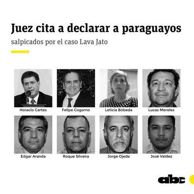 Juez de Brasil cita a declarar a Cartes y otros investigados por el caso Messer