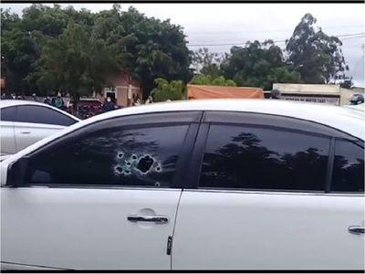 Sicarios matan a balazos a jefe se seguridad de la cárcel de Coronel Oviedo
