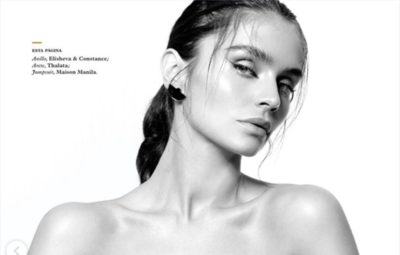"HOY / La paraguaya Lourdes Motta, en la revisa Maxim de México: ""Soy muy dura conmigo misma"""