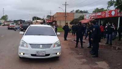 Sicarios asesinan al jefe de seguridad de la cárcel de Coronel Oviedo
