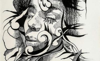 HOY / Ilustraciones sobre el cuerpo humano y la naturaleza, en la galería virtual de 'La Manzana de la Rivera'