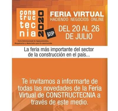 ¡Constructecnia 2020 será en modalidad virtual!