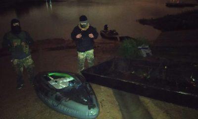 Incautan embarcaciones clandestinas