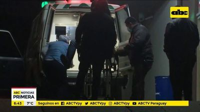 Conductor de Uber, con herida de bala