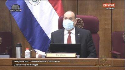 Desmienten que presidente del Senado haya dado positivo al test del Covid-19