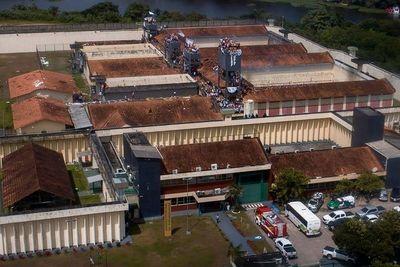 Fuga en Brasil de unos 30 presos de alta peligrosidad
