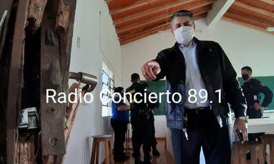 Delincuentes roban colegio en Franco