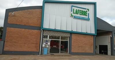 Laferré inauguró su primera sucursal en San Lorenzo