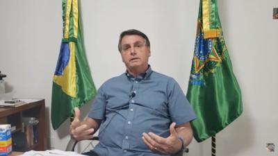 HOY / Desde el aislamiento, Bolsonaro pide a alcaldes y gobernadores que abran el comercio