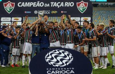 """""""Flu"""", primer campeón en el regreso del fútbol"""