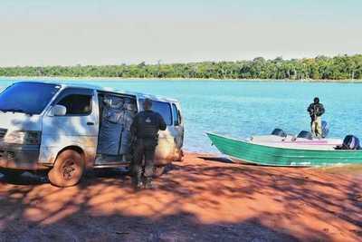 Detienen a 8 presuntos contrabandistas en reserva Natural Pikyry