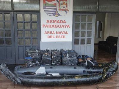 Intentan enviar piezas de celulares por el río Paraná