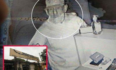 Delincuentes intentaron robar en escribanía  y fueron grabados por cámaras de seguridad – Diario TNPRESS