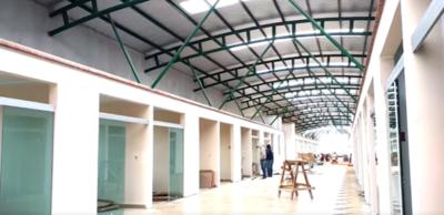 Terminal de ómnibus de Minga presenta avance del 90%