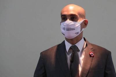 Mazzoleni admite la baja ejecución y llama superficial las críticas de Villamayor