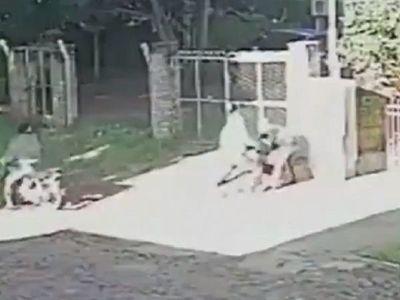 Ladrones intentaron llevarse a una beba de los brazos de su madre