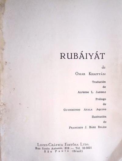 Omar Kayyam en ava ñe'eme