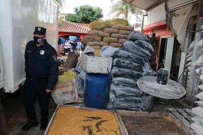 Allanamiento de mercaderías serían de contrabando