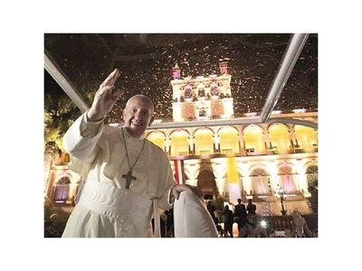 Lo que dejó el paso de Francisco por Paraguay