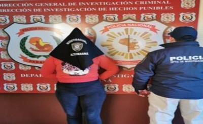 Detienen a una mujer por constantes robos de celulares