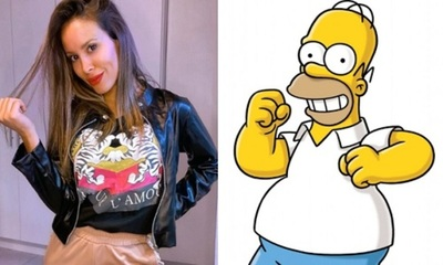 "Patty Orué habló con ""Homero Simpson"""