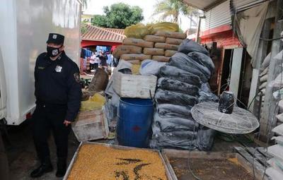 Incautan víveres de contrabando en Fernando de la Mora