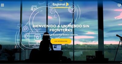 Banco Regional presentó su renovado portal web