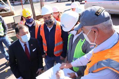 Se inician mejoras de calles alternativas para el túnel de Tres Bocas
