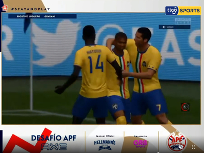 Por un gol, Guaraní se mete entre los cuatro mejores