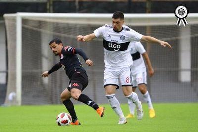 Olimpia pierde en su primer amistoso ante San Lorenzo