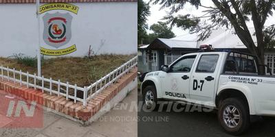 INTENTABA HURTAR UN AUTOMÓVIL Y FUE SORPRENDIDO EN FLAGRANCIA POR LA POLICÍA