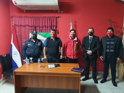 Areguá: Coordinan acciones de prevención contra el COVID-19