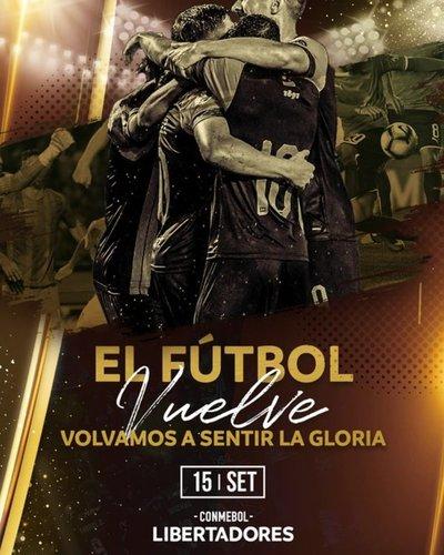 La Copa Libertadores se reanuda en septiembre