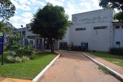 Una mujer con covid-19, en estado terapia de Coronel Oviedo
