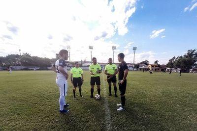 ¡General Díaz disputó un amistoso con árbitros que están fuera del protocolo!