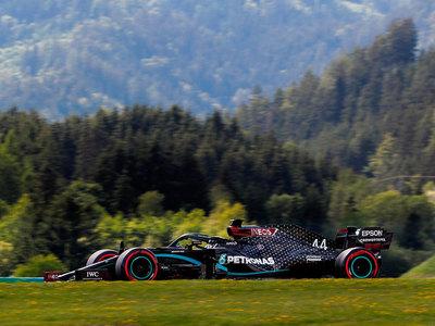 Lewis Hamilton saldrá primero en el Gran Premio de Estiria