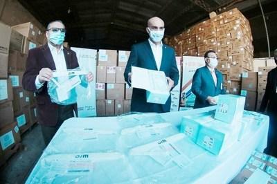 Salud Pública recibió oficialmente 25 t de insumos comprados vía OPS