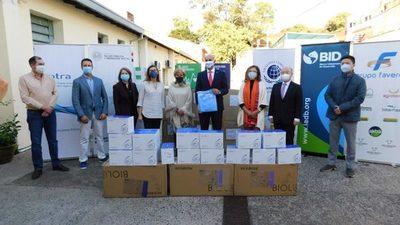 Pacto Global y Grupo BID entregan nueva carga de insumos médicos