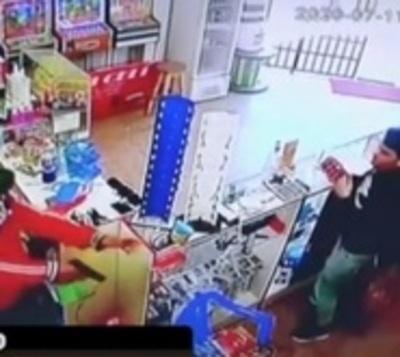 Captan asalto en Asunción