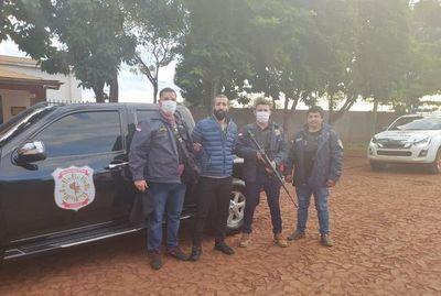 Trasladan a Asunción a libanés requerido por la justicia de Brasil