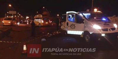 UN HOMBRE MUERE ARROLLADO SOBRE LA RUTA 6 EN MARÍA AUXILIADORA