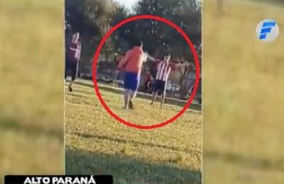 Hombre balea a su excuñado, tras perder un partido de fútbol