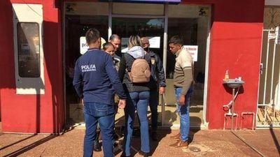 Detienen e imputan a presuntos implicados en un supuesto asalto a financiera de Concepción