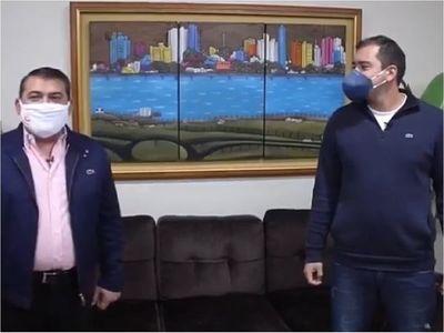 """Intendente invita a caravana para """"defender democracia"""" en Encarnación"""