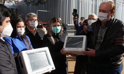 Gobernación dona monitores  para fortalecer servicio de  Hospital Integrado Covid-19 – Diario TNPRESS