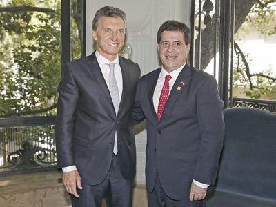 Macri ingresará a Paraguay para una reunión privada con Cartes