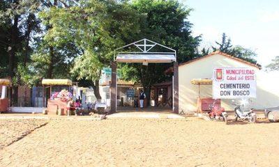 Cementerio municipal de CDE no recibirá muertos por covid-19