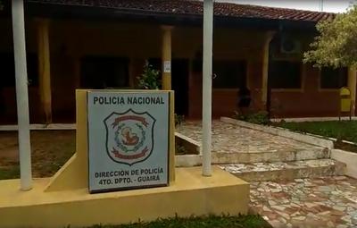 Villarrica: 30 policías van a aislamiento tras confirmarse COVID-19 en un detenido