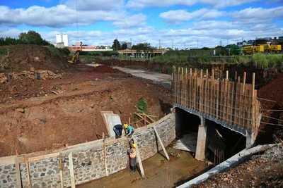 Itaipú prevé solución definitiva al problema de drenaje del km 5,5 en CDE